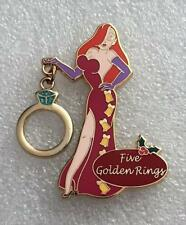 Disney Twelve 12 Days of Christmas Jessica Rabbit Five Golden Rings Le 300 Pin
