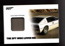 2014 James Bond Archives JBR44 Lotus Espirit S1 Window Panel Prop card 096/175