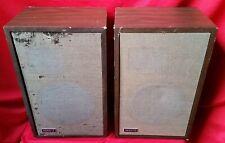 Vintage Pair Of Advent - 3 Speakers Sound Great !