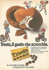 X0965 Treets il gusto che scrocchia - Pubblicità del 1976 - Vintage advertising