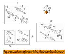 TOYOTA OEM 04-06 Sienna Drive Axles-Front-Bearing Support Right 4345708010