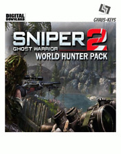 Sniper Ghost Warrior 2 World Hunter Pack Steam key PC Game global [envío rápido]