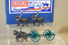 DUCAL SOLDIERS TROOPING THE COLOUR ROYAL HORSE ARTILLERY GUN TEAM sb