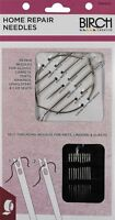 Repair Needles + Self Threading Sewing Lingerie ,Carpets,Tents,Upholstery BIRCH