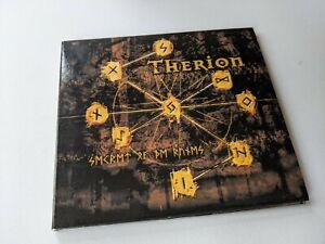 Therion Secret of the Runes CD Album Black Heavy Metal