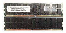 MICRON 4 gb (2x2gb) - PC2-5300P-555-12-ZZ - Ecc Reg - memoria SERVER