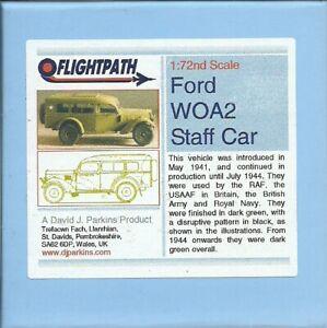 Flightpath UK 20mm (1/72) Ford WOA2 Staff Car