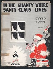 In the Shanty Where Santy Claus Lives 1931 Christmas Sheet Music