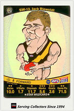 2011 AFL Teamcoach Cards Star Wild SW13 Jack Riewoldt (Richmond)