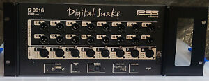 Roland S-0816 8 x 16 Front of House Unit Compact, Portable Digital Snake System