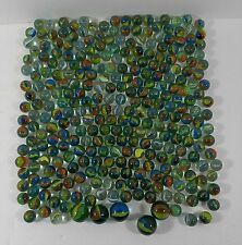 Marbles Lot of 290 Cats Eye Glass Marbles Plus 5 Shooters