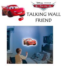 Disney CARS Room Light Talking Wall Friend Gift Toy Decal LIGHTNING McQueen