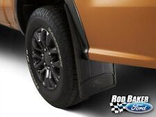 OEM Ford 2019 Ford Ranger Rear Splash Guards - Black Splash Guards ( Pair )
