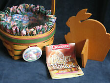 Longaberger 1999 Small Natural Easter Basket very nice