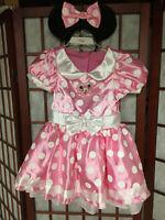 Disney Minnie Mouse Costume size 2-4T