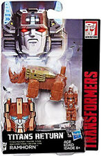RAMHORN titans return TRANSFORMERS action figure HEAD MASTERS mosc headmasters