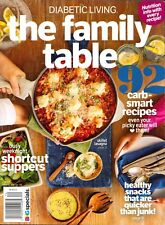 Diabetic Living The Family Table BHG SIP 2017 Carb-Smart Recipes Healthy Snacks