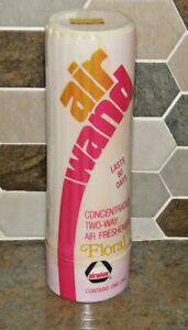 NOS Vintage Sealed Airwick Air Wand Concentrated 2-Way Floral Air Freshener NOS