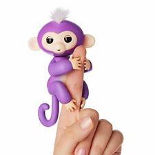 Fingerlings Purple Mia Pet Baby Monkey Interactive Toy by WowWee 1 Day