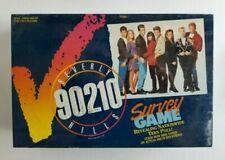 Vintage Beverly Hills 90210 Survey Board Game 1991 Milton Bradley 4203