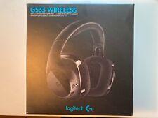 Logitech G533 Wireless Black Headband Headset, Comfortable Over-Ear Fit, 7.1