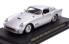 DIE CAST 1:43 - FERRARI 250 GT BERLINETTA TOUR DE FRANCE - ARGENTO MET. 1960