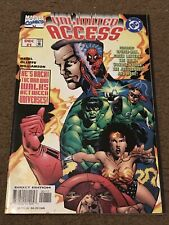 Unlimited Access Amalgam #1-4 High Grade COMPLETE Full Run Lot Set Marvel vs DC