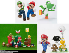 Nintendo Mario 3 Characters and 4 Diorama S.H.Figuarts Playing Set