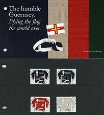 Guernsey 2017 MNH Guernsey Jumper SEPAC Handicrafts 4v Presentation Pack Stamps
