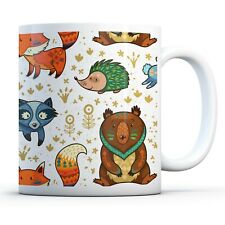 Tribal Animals - Drinks Mug Cup Kitchen Birthday Office Fun Gift #15877