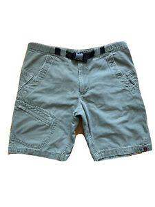 Alpine Design Shorts Cotton Canvas Camp Hike Trail Zipper Pockets Mens Small