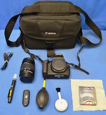 Canon EOS 1200D DS126491 Digital Camera - Black (Kit w/ EFS 18-55mm Lens) PLUS