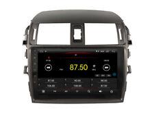 "Android 8.1 GPS Navigation Wifi Radio Stereo 10.2"" For Toyota Corolla 2007-2013"