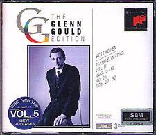 Glenn Gould: Beethoven Piano Sonata vol.2 appassionata pastorale The Tempest 3cd