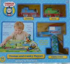 Thomas & Friends Thomas & Cranky Playset ** GREAT GIFT **