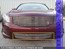 GTG 2008 - 2010 Honda Accord 4dr 2PC Polished Overlay Bumper Billet Grille Kit