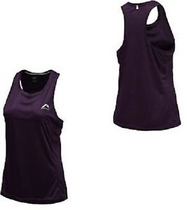More Mile Ladies Running Excercise Gym Training Breathable Vest T Shirt Top