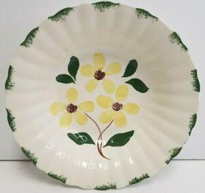 Vintage Ridge Daisy Oval Platter Blue Ridge Southern Pottery Yellow Flower Vintage Blue Ridge Southern Pottery Platter