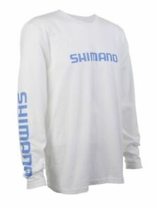 Shimano Ring Spun Cotton LS Tee Fishing Shirt- Pick Color/Size-Free Ship