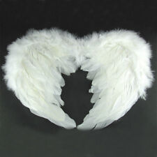 Party Photography Costume Swan Angel White Feather Wings Halloween Children