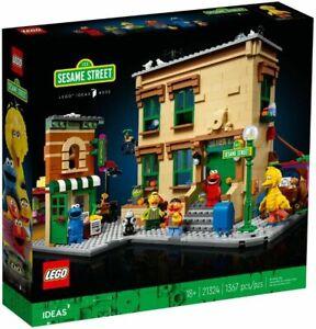 LEGO Ideas 21324 123 SESAME STREET Brand New & Sealed
