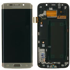Samsung GALAXY s6 Edge SM-g925f Display LCD Touchscreen modulo, Oro
