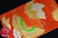 KIMONO YUKATA OBI JAPANESE GENUINE CEINTURE JAPONAISE SILK SOIE MADE IN JAPAN