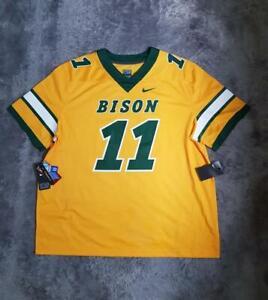 Men's Nike NCAA NDSU Bison Carson Wentz Untouchable Football Jersey #11 sz 3XL