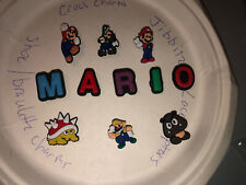 Nintendo Mario Brothers Lot Of 11 Crocs,Bracelet ,Lace Adapter Charms,Jibbitz