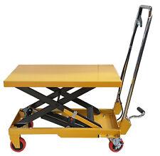 Kraftwelle Hydraulik Stahl Hubtischwagen Hubwagen Hubtisch bis 150 kg hydraulisc
