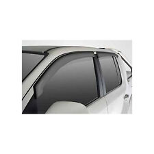 Volkswagen Amarok Slimline Weather Shields Dual Cab GENUINE NEW (SET OF 4)