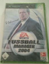 XBOX SPIEL - EA SPORTS FUSSBALL MANAGER 2004 NEU!!!