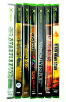 Lot Of 7 XBOX Games Prince of Persia Harry Potter Black Hawk Down All Complete