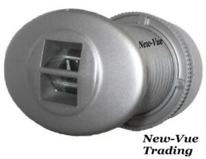 Wide Angle Peephole Door Viewer Door Scope  View Silver
